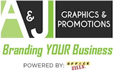 A&J Graphics and Promotions logo
